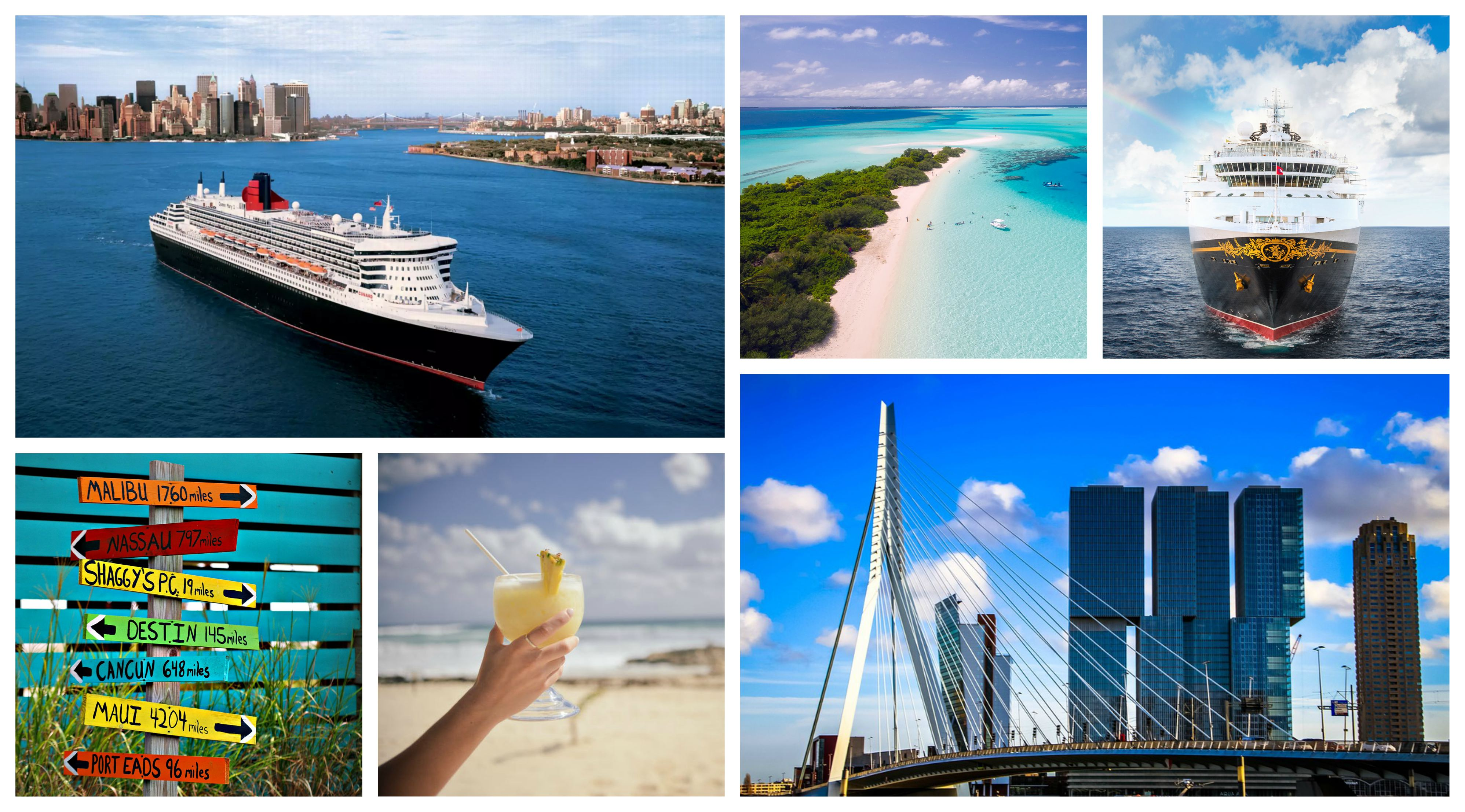 Fotos van cruise en vakantie