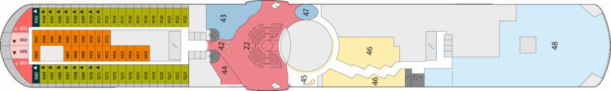 Dekplan AidaMar
